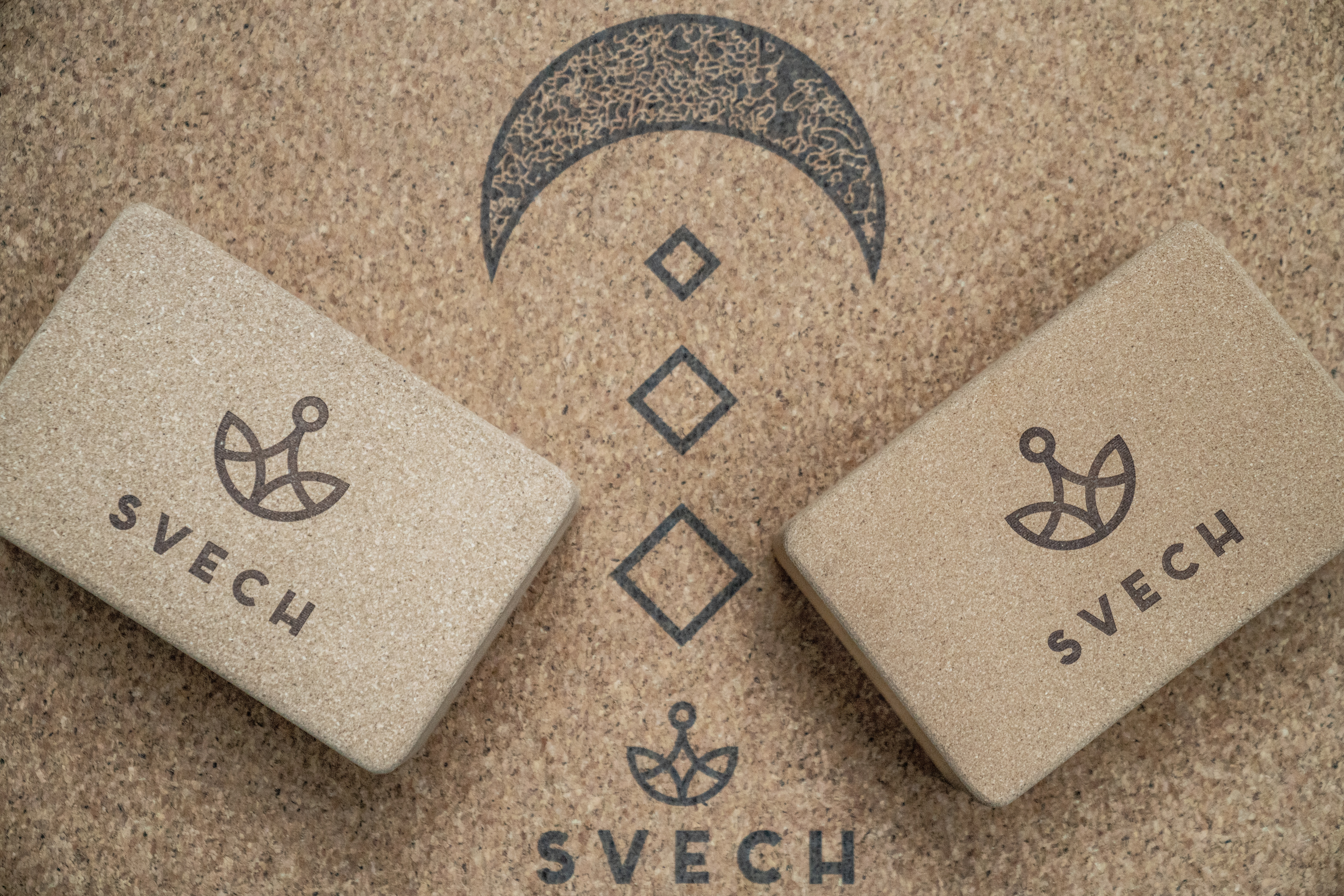 yoga cork brick - Svech